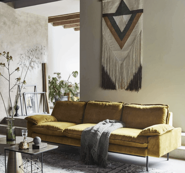 26 Earthy Modern Interior Design for Living Room